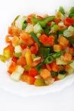 nya fryste grönsaker royaltyfria foton