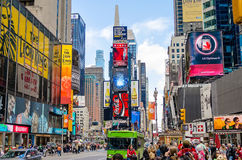nya fyrkantiga tider york Royaltyfri Bild