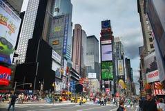 nya fyrkantiga tider york för stad Royaltyfri Foto