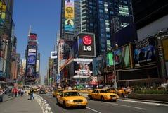 nya fyrkantiga tider york för stad Royaltyfri Bild