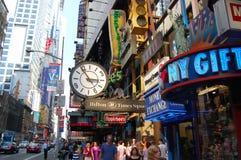 nya fyrkantiga tider york för stad Arkivfoton