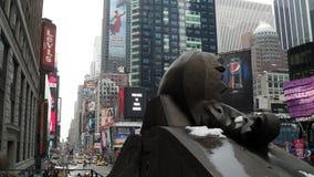 nya fyrkantiga tider york för stad Fotografering för Bildbyråer