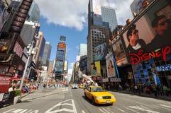nya fyrkantiga tider york för 7th ave-stad Arkivbild