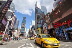 nya fyrkantiga tider york för 7th ave-stad Royaltyfri Fotografi