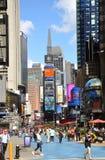 nya fyrkantiga tider york för broadway stad arkivfoton