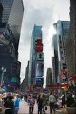nya fyrkantiga tider york för stad Arkivbilder