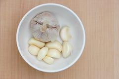 Nya garlics Royaltyfri Fotografi