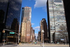 nya gator york för stad Arkivbilder