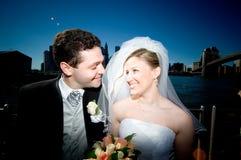 nya gifta sig york Royaltyfri Foto