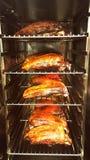 Nya gjorda saftiga roastedänder Arkivfoto