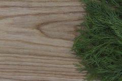 Nya gräsplaner på bakgrunden av ett träkök borstade boaen royaltyfri foto