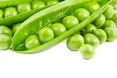 nya gröna ärtor Fotografering för Bildbyråer