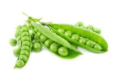 nya gröna ärtor Arkivbilder