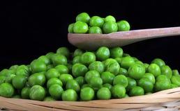 Nya gröna ärtor Royaltyfri Foto