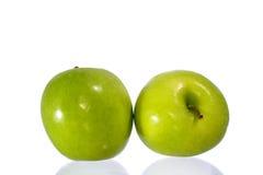 Nya gröna Apple arkivfoton