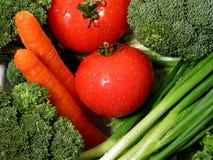 nya grönsaker 1 Arkivfoto
