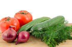 Nya grönsaker Arkivfoto