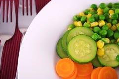 nya grönsaker Arkivbild