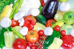 Nya grönsaker för detox bantar Arkivbild