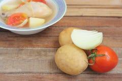 Nya grönsaker för soup Royaltyfria Foton