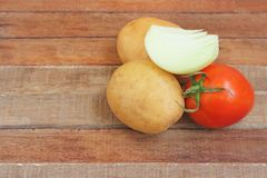 Nya grönsaker för soup Royaltyfri Foto