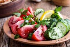 Nya grönsaker, favorit- sommarsidomaträtt arkivbilder