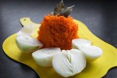 Nya grönsaker på tabellen Royaltyfria Foton