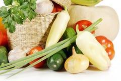 nya grönsaker för sammansättning Royaltyfria Bilder