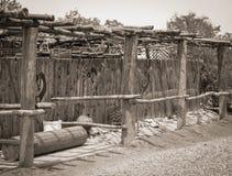 Nya historiska gamla Mesilla - Mexiko Royaltyfri Foto