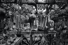 Nya historiska gamla Mesilla - Mexiko Arkivbild