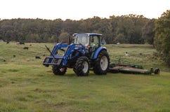 Nya Holland Tractor Royaltyfri Foto