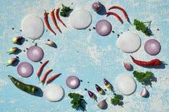 nya homegrown grönsaker arkivfoto