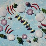 nya homegrown grönsaker arkivfoton