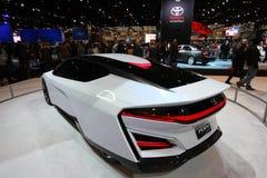 Nya Honda FCEV 2014 Royaltyfri Bild