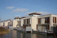 Nya hus i Zoetermeer Nederländerna Arkivfoton