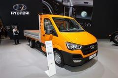 Nya Hyundai H350 Fotografering för Bildbyråer