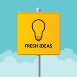 Nya idéer Arkivfoton