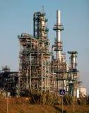 Nya industriella lättheter under konstruktion royaltyfria foton