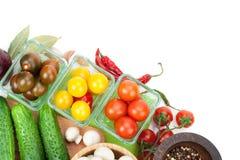 Nya ingredienser för att laga mat Arkivfoton