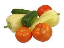 nya isolerade grönsaker Royaltyfri Bild