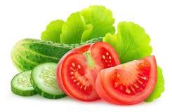 nya isolerade grönsaker Arkivbilder