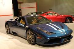 Nya italienska sportbilar Fotografering för Bildbyråer