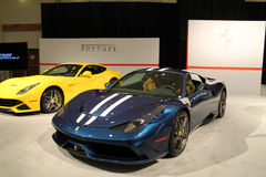 Nya italienska sportbilar Royaltyfria Foton