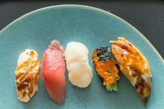 nya japanska sushi Fotografering för Bildbyråer