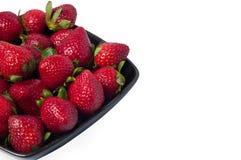 Nya jordgubbar royaltyfria foton