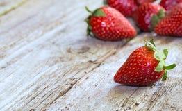 nya jordgubbar Royaltyfri Foto