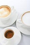 Nya kaffevariationer Royaltyfri Fotografi