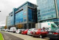 Nya kontor och hus för Vilnius centrum Fotografering för Bildbyråer