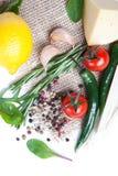 nya kryddagrönsaker Arkivbilder