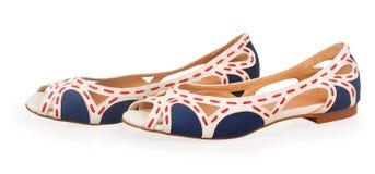 Nya kvinnors sandaler royaltyfria bilder